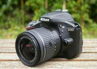 Nikon D3400 Bisa Kredit Tanpa Kartu Kredit