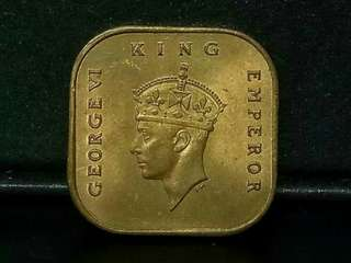 King George Vi 1940, 1cent.
