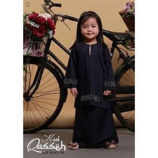Baju Kurung Qasseh Kids - Koleksi Ibu Anak
