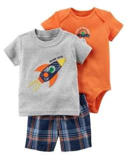 Carter's 3 in 1 Flying Rocket Set