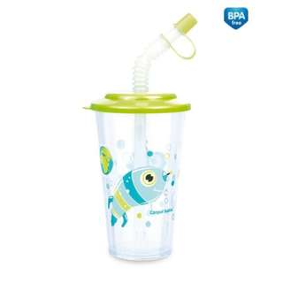 Canpol Straw Cup Green