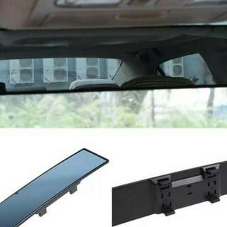 Convex rearview mirror