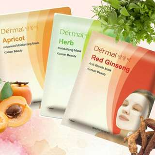 DERMAL KOREAN BEAUTY MASK