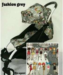 Cover n pad stroller baby grace