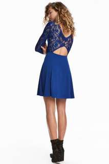 H&M Lace Skater Dress