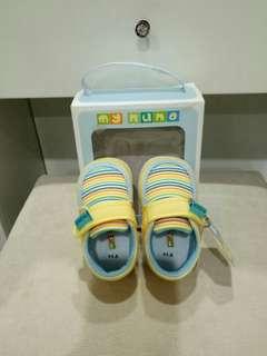 麗嬰房_布底嬰兒鞋_11.5cm
