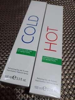 Hot & cold perfume