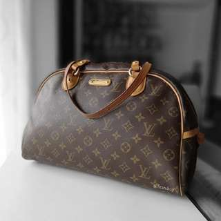 Authentic Louis Vuitton Monogram Montorgueil LV