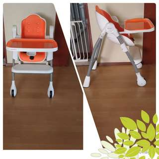 Orible cocoon high chair