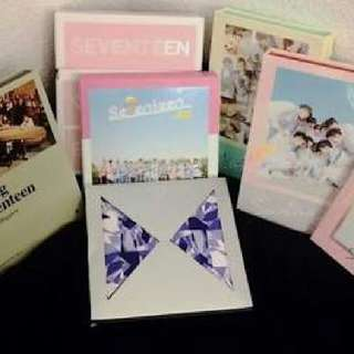 Seventeen Albums