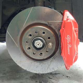 Brembo 330MM Brake Kit - Alfa Romeo 159 / Brera / Guiletta