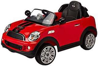Mini Cooper Toddler Electric car
