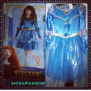 Merida the brave costumes authentic for kids