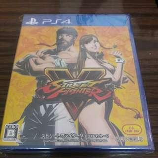 PS4 STREET FIGHTER V 全新 日版 特別版