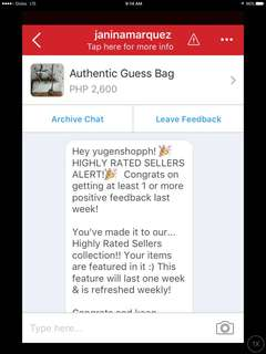 Highly Rated Seller Again! Thank You Carousell!💕