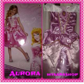 Aurora authentic disney costumes