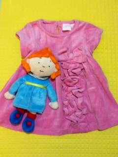Soft Corduroy Dress