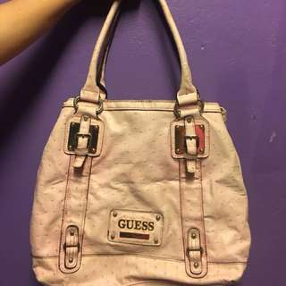 AUTHENTIC GUESS BAG AND WALLET