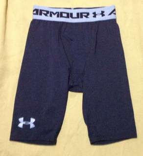 Under Armour compression cycling shorts