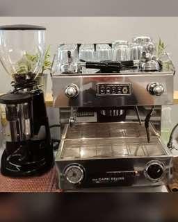 Coffee machine professional espresso machine &a coffee bean blender
