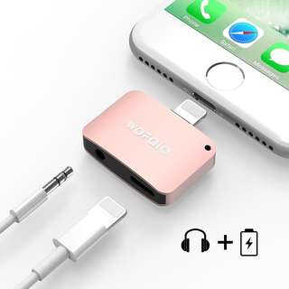 2 in 1 Lightning Adapter for iPhone 7/7 Plus