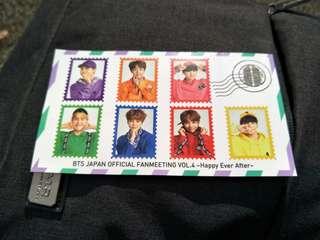 BTS Japan FM sticker