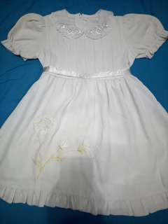 Dress anak usia 5-6 thn