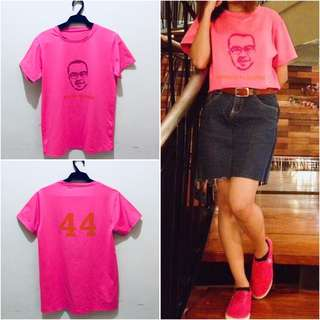 Neon Pink Baseball Shirt