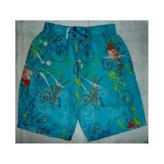 Mothercare - Printed Blue Beach Shorts