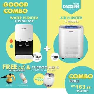 CUCKOO COMBO (Water + Air Purifier)