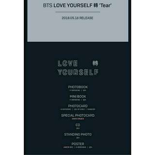 (LOW-PROFIT) BTS LOVE YOURSELF; TEAR