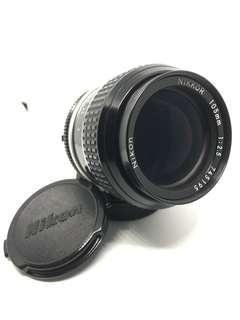 Nikkor Nikon 105mm 1:2.5