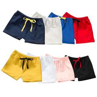 Boy/Girl short pants (1-5 yrs old