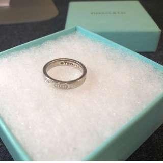 Tiffany 1837™系列女裝戒指,內直徑17mm