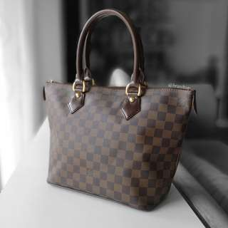 Authentic Louis Vuitton Damier Ebene Saleya Pm LV