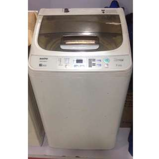 Sanyo ASW-A90HT Top Load Washing Machine (Second Hand) *1 Month Warranty*