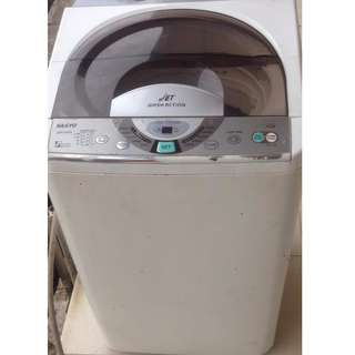 Sanyo Top Load Washing Machine ASW-A85HT (Second Hand) *1 Month Warranty*