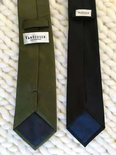 Van Heusen neckties (Bundle sale)