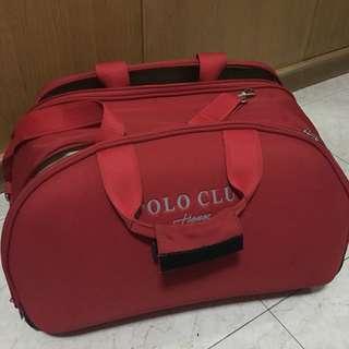 Polo Hand Carry Merah (cabin bag)