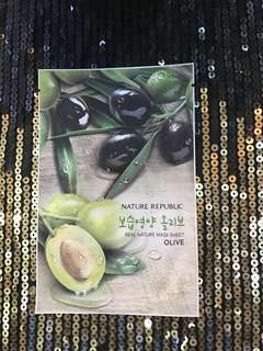 Masker Olive Oil Nature Republic