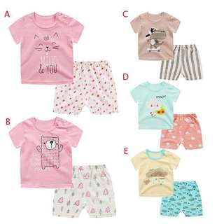 Baby boy/Girl clothes set(1.5-3.5 yrs old)