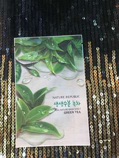 Masker Nature Republic Tea Tree