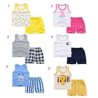 Baby/Boy/Girl clothes set(0-6 yrs old)
