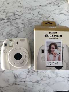 Fujifilm Polaroid instax mini 8 white
