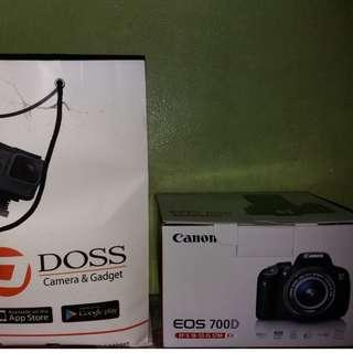 Kamera Dlsr canon 700d