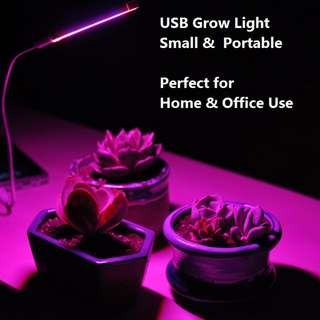 Portable USB LED Grow Lights / Plant Lamp / Indoor Plants Light / Office Plant Light