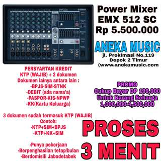Power Mixer EMX 512 SC