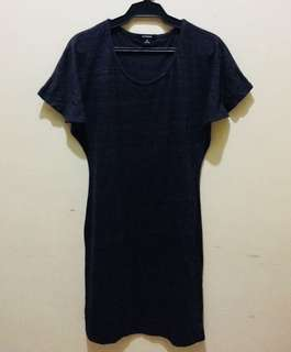 Dark grey Straight Dress