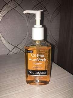 Neutrogena Oil - Free Acne Wash
