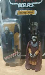 Star Wars Vintage Collection Daultay Dofine plus free figure